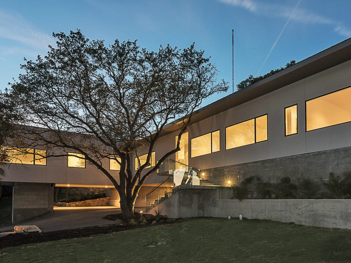 2016 Austin Modern Home Tour house 2510 Trail of Madrones Sago International front