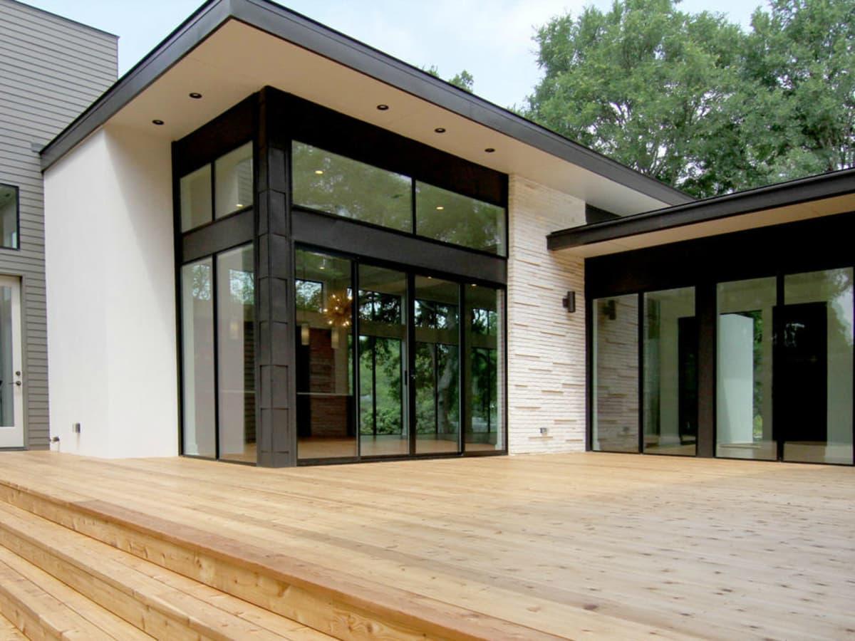 2016 Austin Modern Home Tour house 2405 Rockingham Circle Steve Zagorski Architect back porch