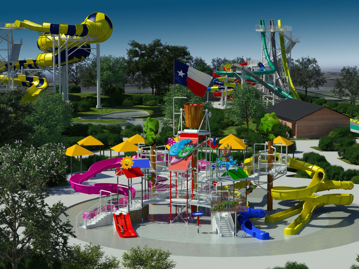 Typhoon Texas childrens area rendering