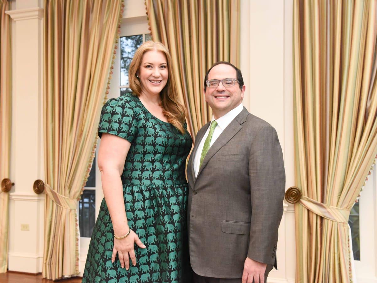 Cornerstone Dinner, Feb. 2016, chairs Elizabeth Husseini, Richard Husseini