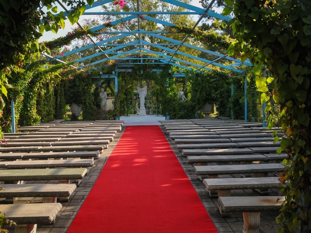 Renaissance Festival Weddings, Feb. 2016 English Garden