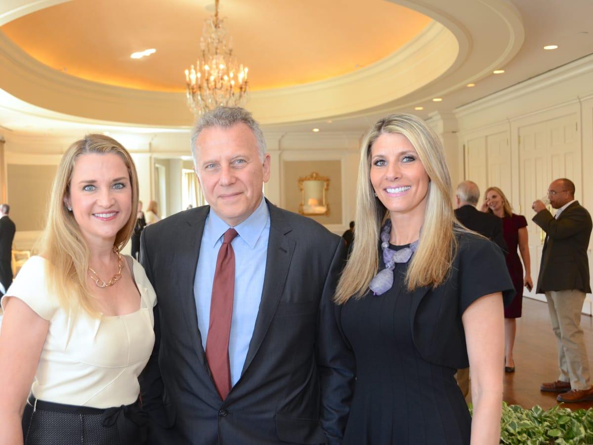 The Center luncheon, Feb. 2016, Mary D'Andrea, Paul Reiser, Gina Bhatia