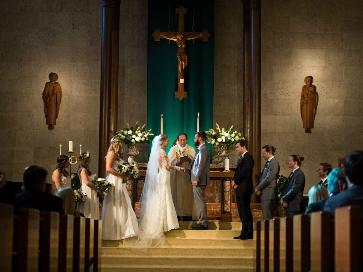 Katie Van Dyk Ben Nelson real wedding-ceremony