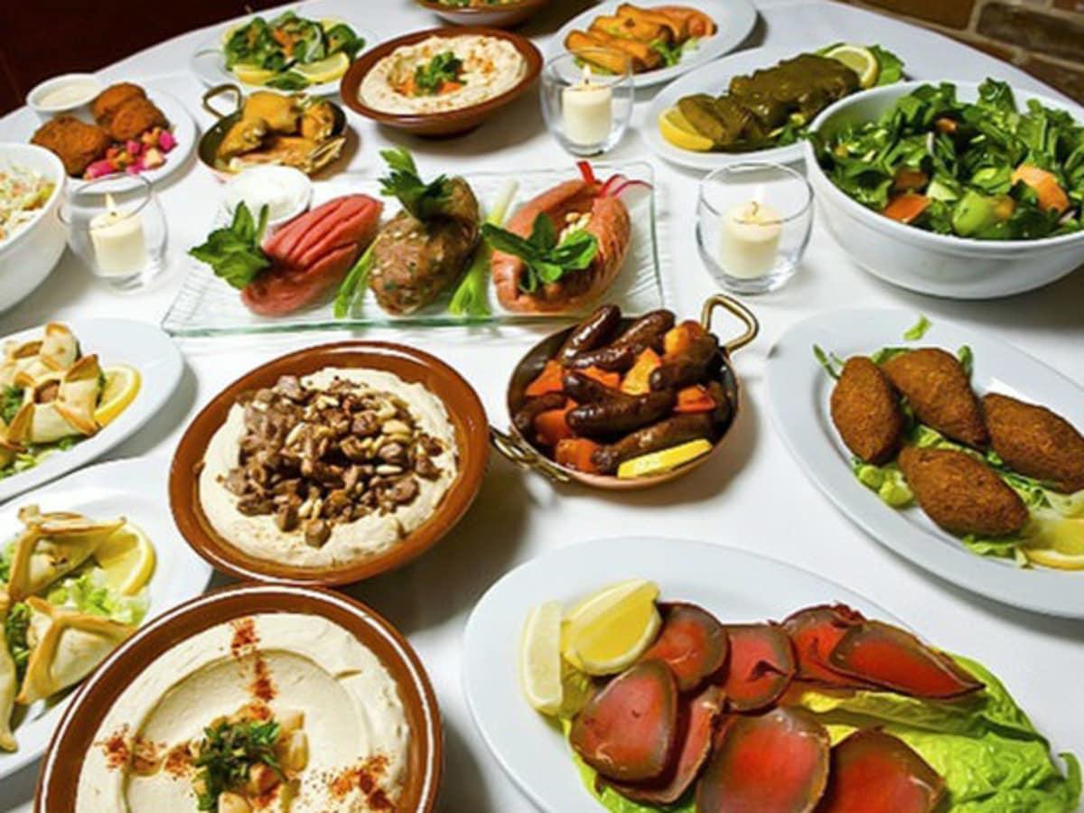 Lebanese tapas