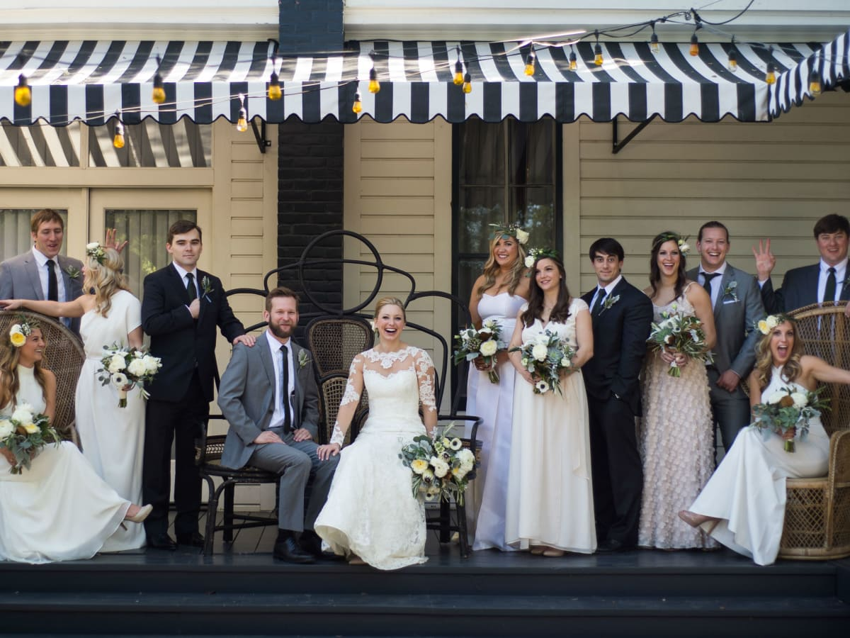 Austin deemed one of americas best places to get married in 2018 katie van dyk ben nelson real wedding party junglespirit Choice Image