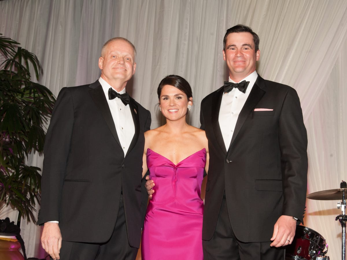Heart Ball, Feb. 2016,  Dr. David McPherson, Lacey Goossen, Matthew Goossen