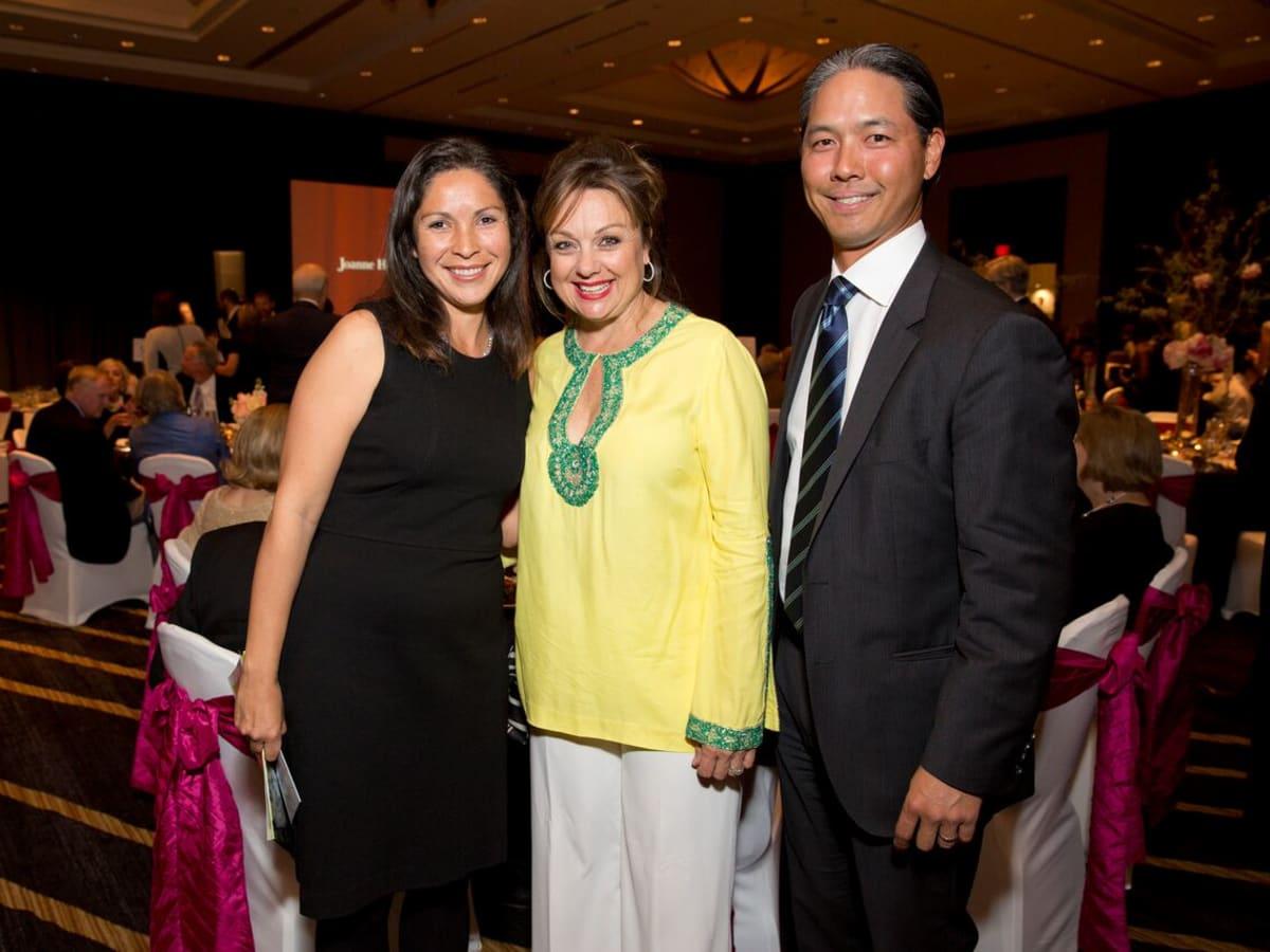 Tennis gala, Feb. 2016, Catalina Mireles, Marcelle, Ho Tommy Ho