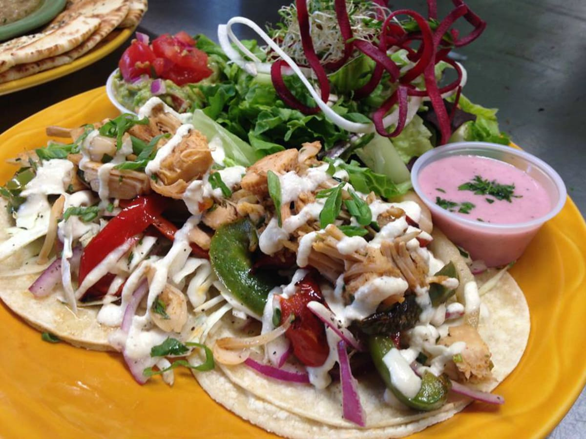 Senor Veggie San Antonio restaurant street tacos