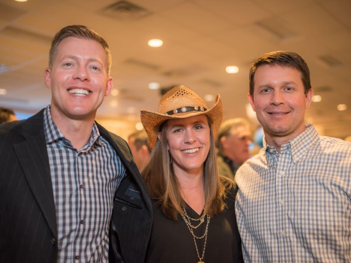 Parish School Gala, Feb. 2016 Daniel Droog, Elsie Mueller, Jonathan Mueller