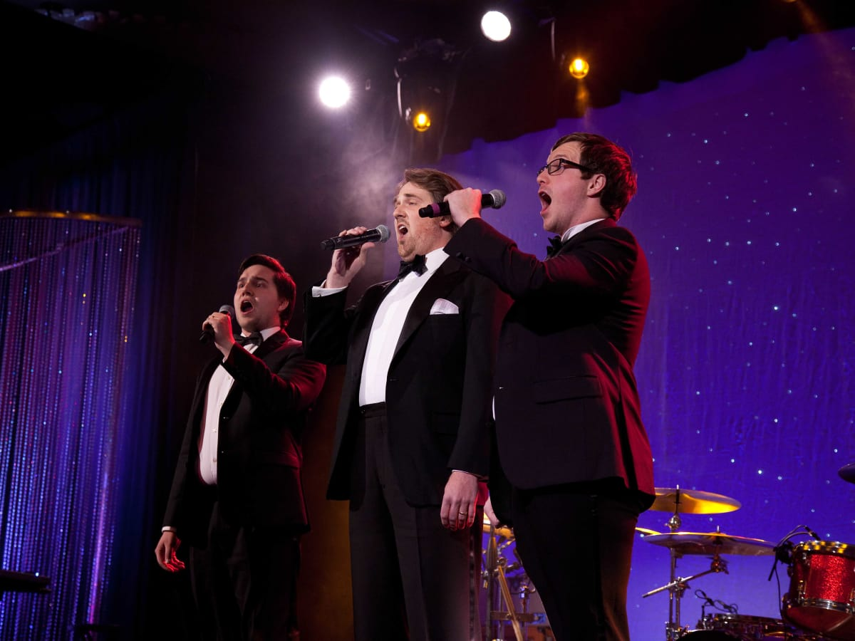 University of St. Thomas Mardi Gras, Feb. 2016, The three tenors