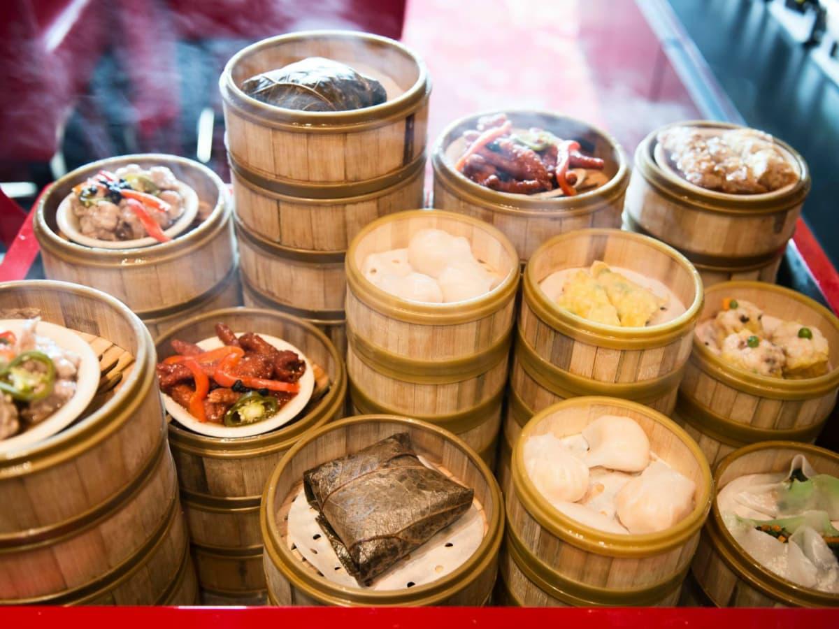 Chinatown Austin restaurant dim sum brunch service