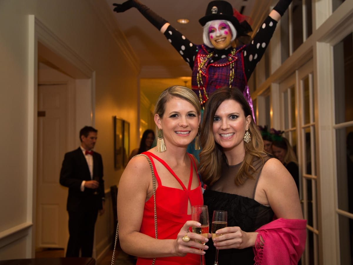 Junior League Gala, Feb. 2016, Anna Lynch, Julie Danvers