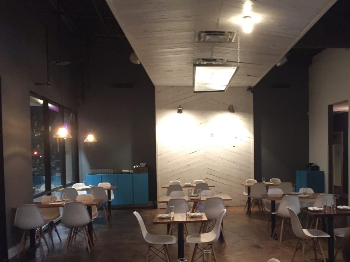 Anju Korean Midtown interior