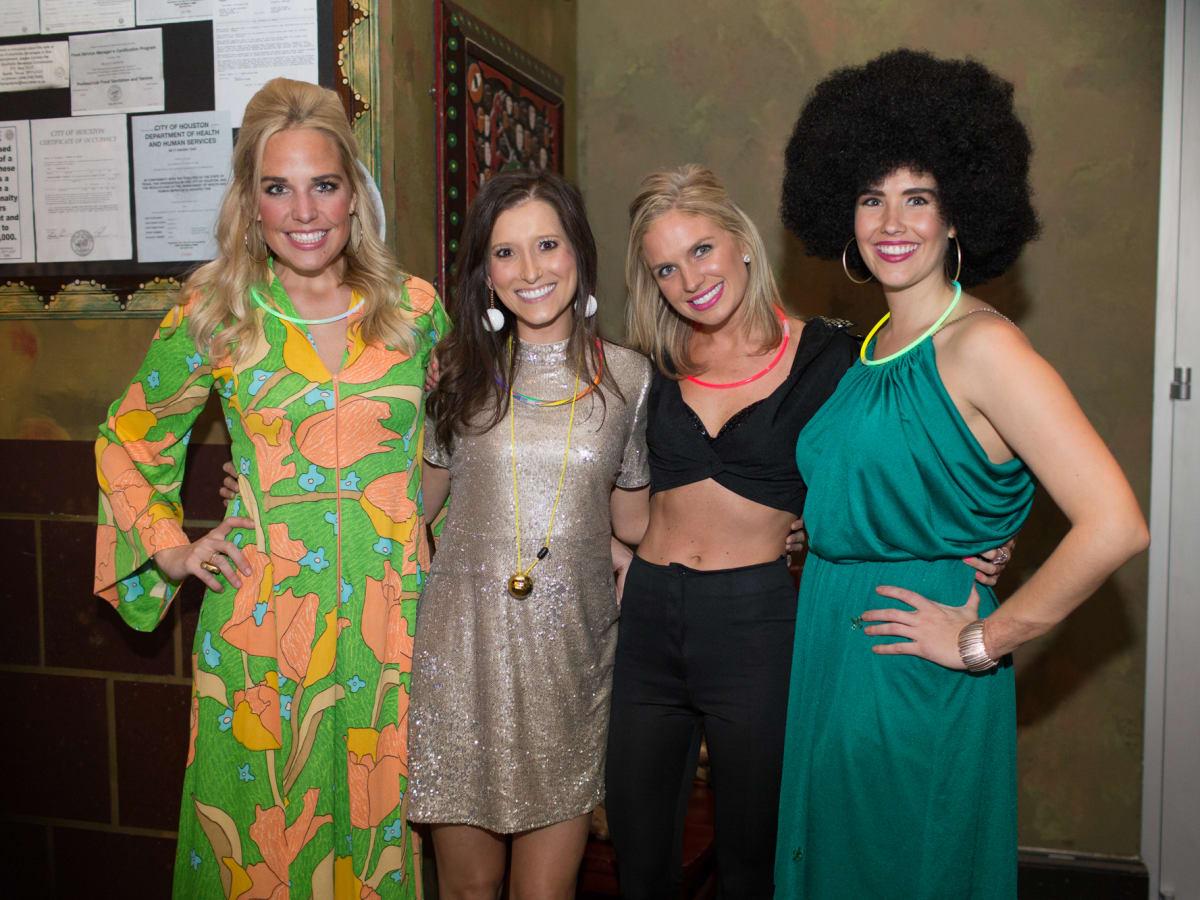 TIRR Foundation gala, Feb. 2016, Helen Hemingway, Alixe Ryan, Kimberly Niehaus, Catherine Bradley