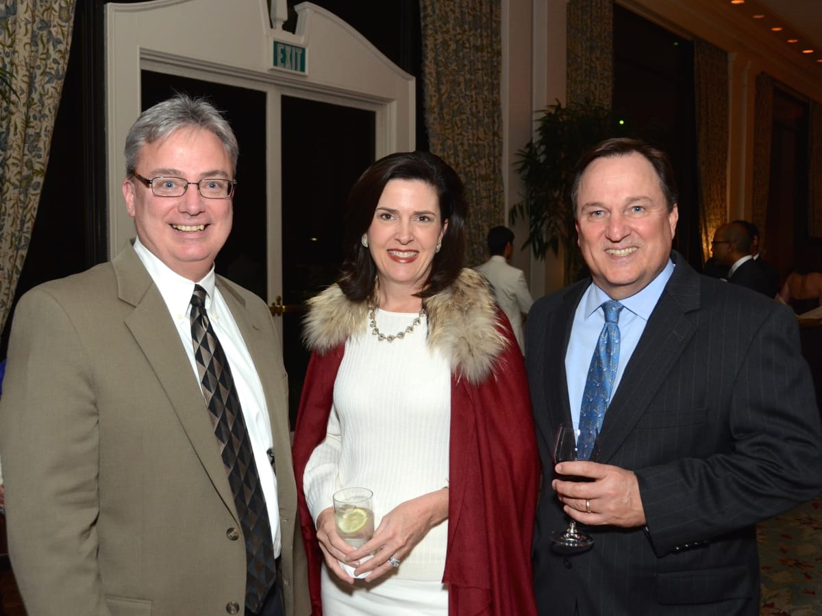 Know Autism Gala, Feb. 2016, Dr. Robert Voight, Virginia Tomlinson, Walter Tomlinson