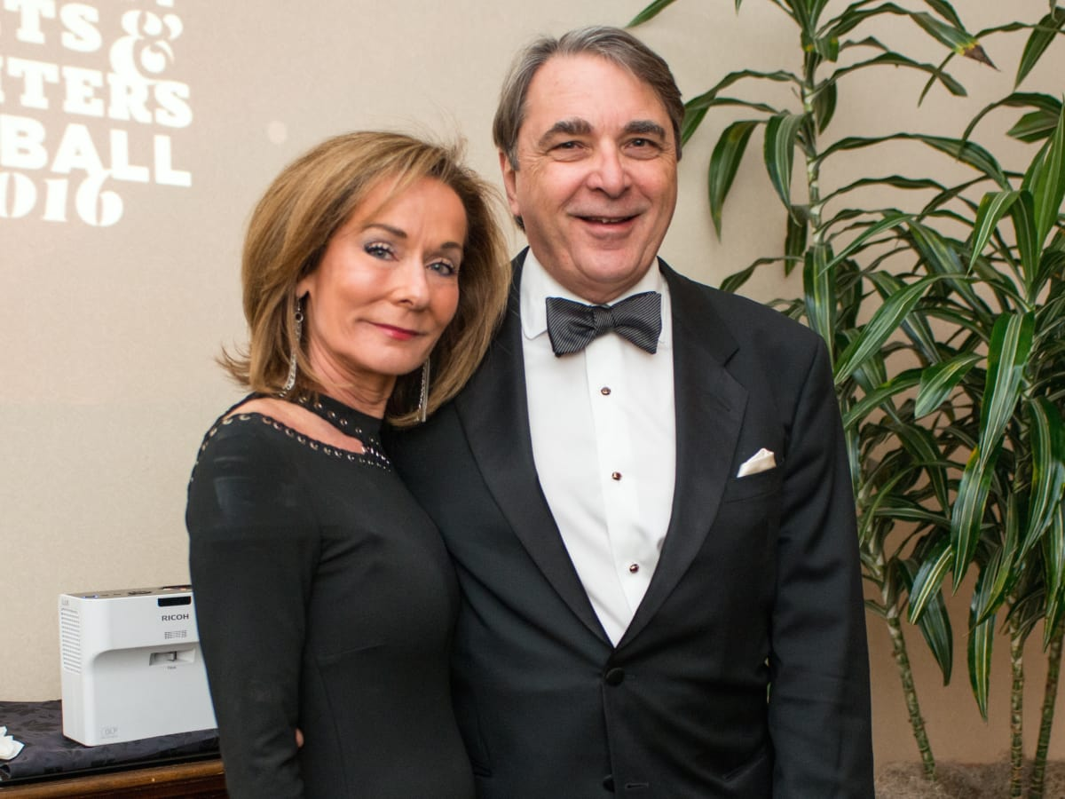 Melanie Gray and Mark Wawro at Inprint Gala