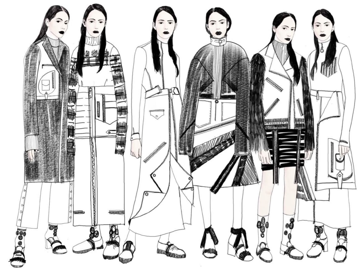 Concept Korea sketch fall 2016 Yohanix