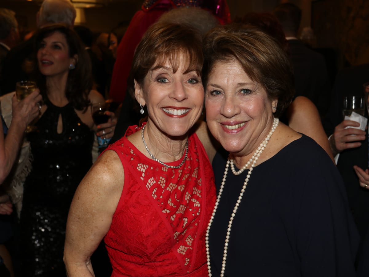 Seven Acres gala, Feb. 2016, Judy Yambra, Barbie Freedman