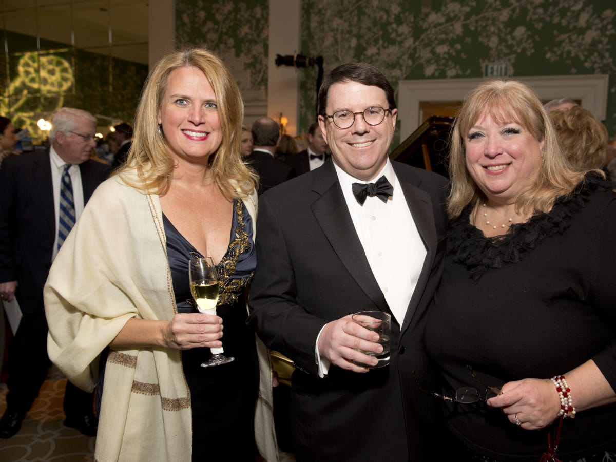 Friends of Fondren Library, Feb. 2016, Catherine James, Trey Cash, Michelle Cash