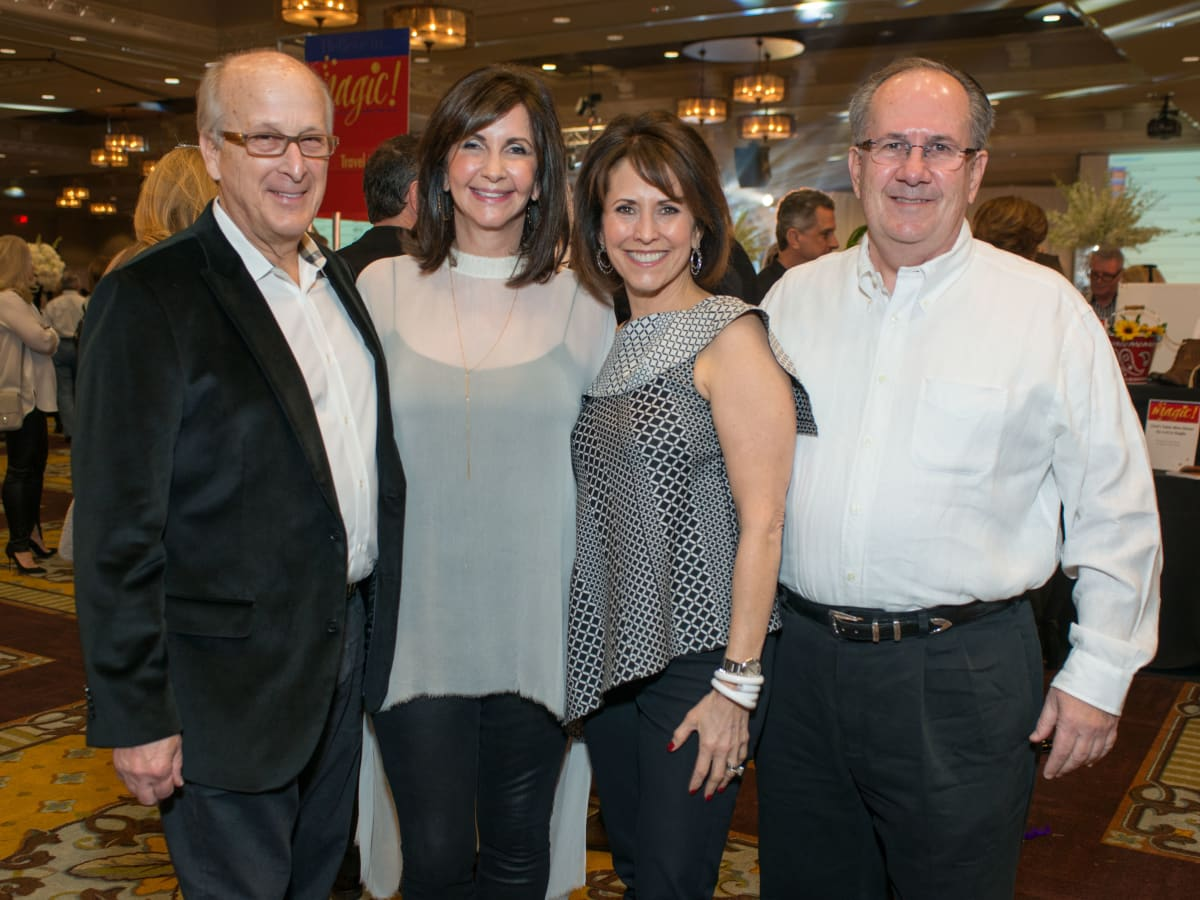 Camp for All, Jan. 2016, Pete Dienna, Bonnie Kelley Dienna, Susan Martin, Tom Martin