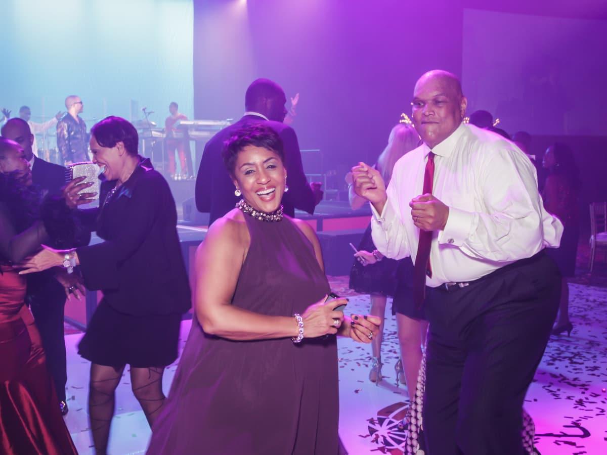 CAMAC 30th anny gala, Jan. 2016, Linda Lorelle, Lou Gregory