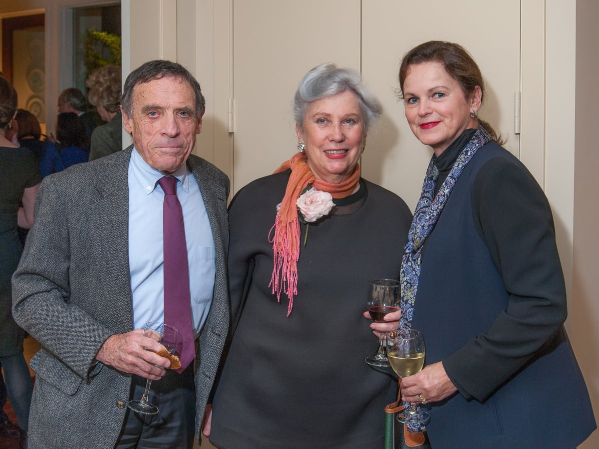 Houston, Da Camera VIP launch event for Sarah's Marcel Proust Project, Marvy and Elaine Finger with Salle Vaughn