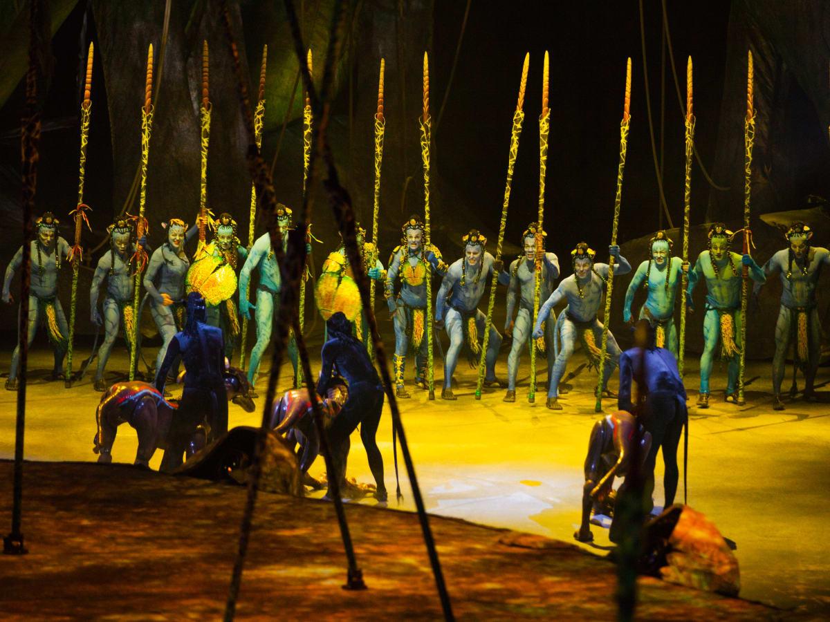 Houston, Cirque du Soleil's Toruk, January 2016