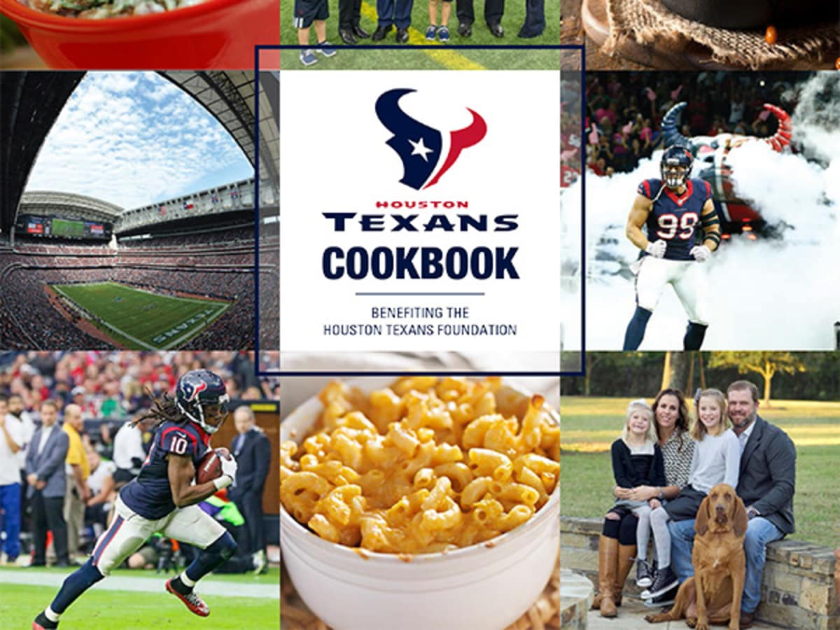 Houston Texans Cookbook cover
