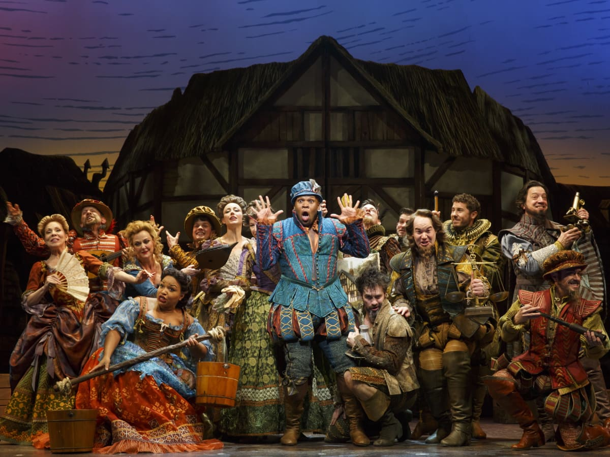 Something Rotten Broadway at Hobby Center