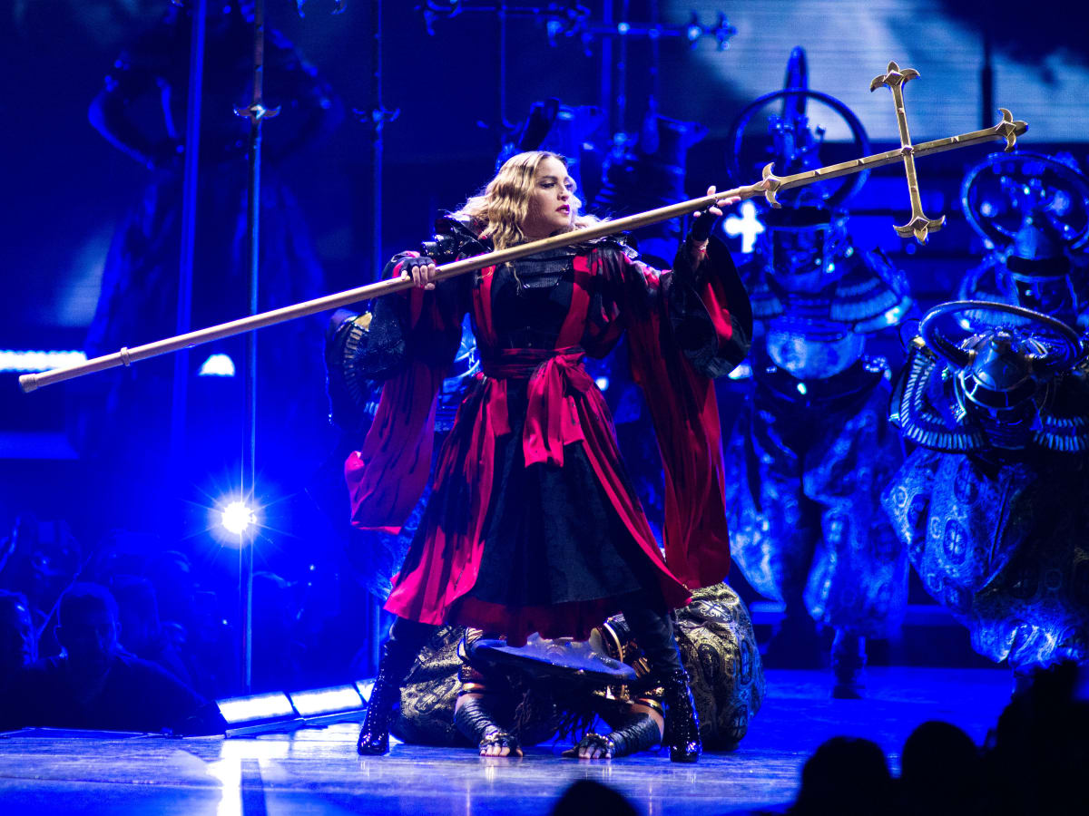 Madonna Rebel Heart Tour concert