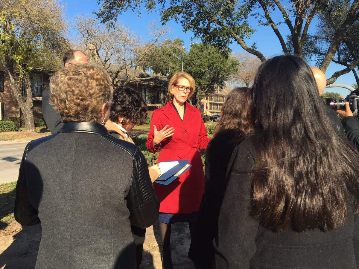 Anne Culver Scenic Houston Broadway Boulevard beautification