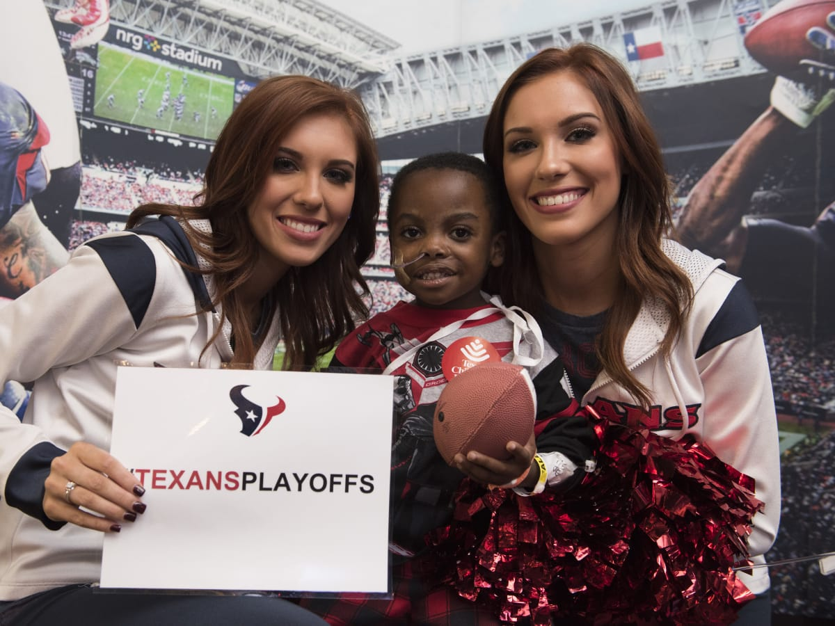 News, Texans at Texas Children's, Jan. 2016, Wade Smith