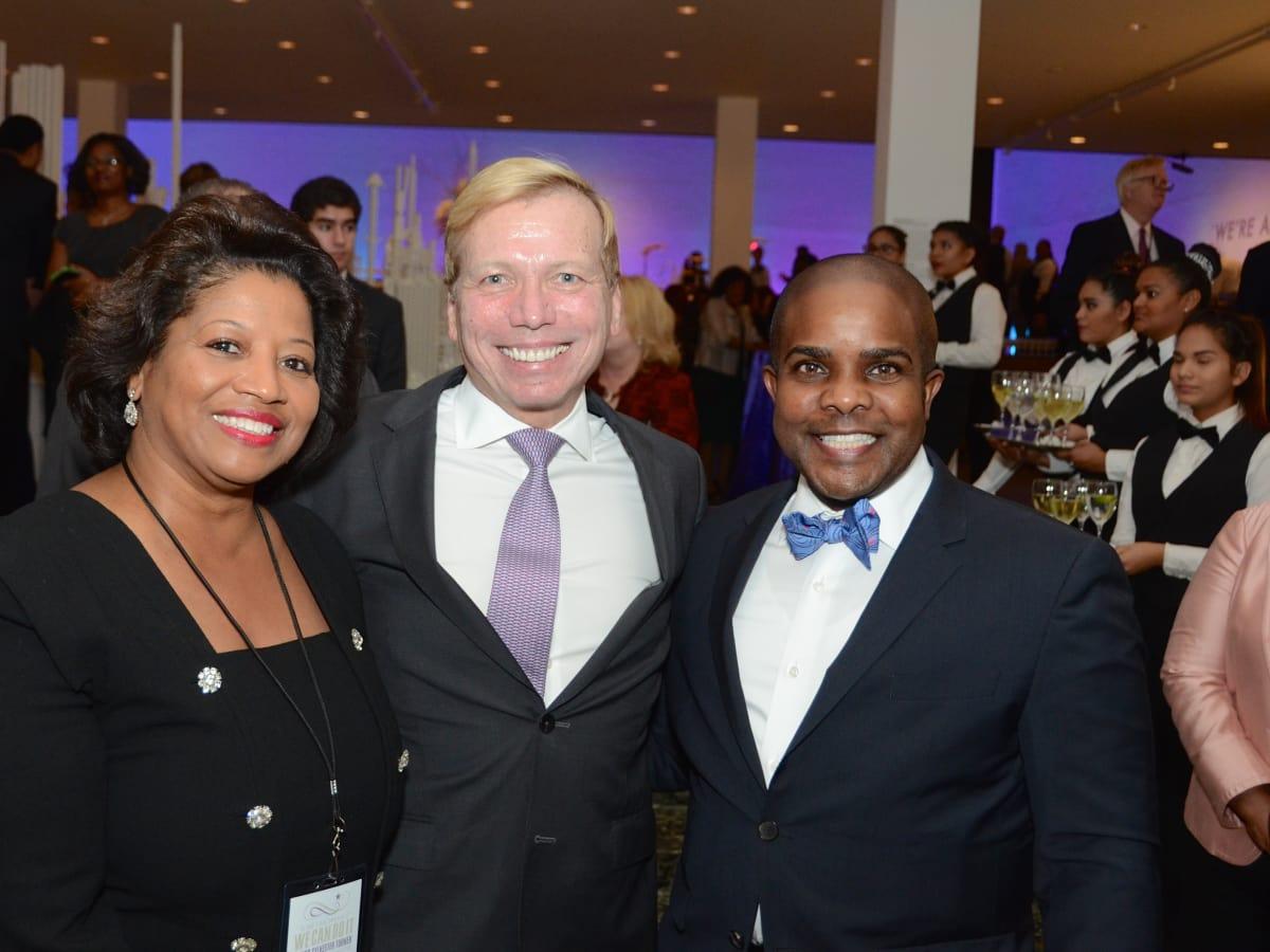 News, Mayor Sylvester Turner Inauguration, Jan. 2016, MFAH, Rhonda Arnold, Jonathan Glus, Alton LaDay