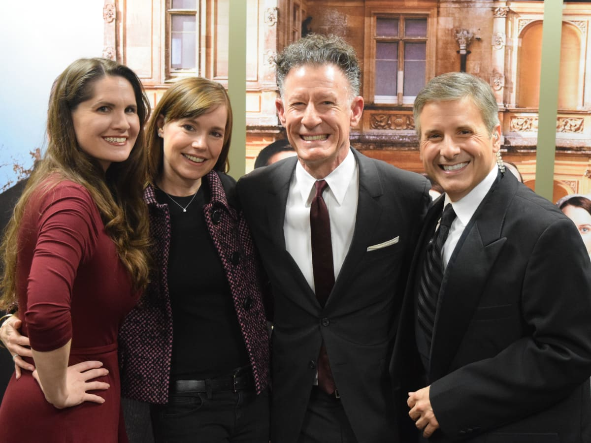Laura Lucas, April Kimble, Lyle Lovett, Ernie Manouse