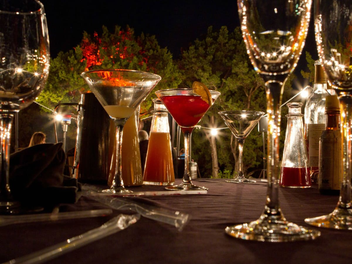 La Cantera Hill Country Resort drinks cocktails glass San Antonio