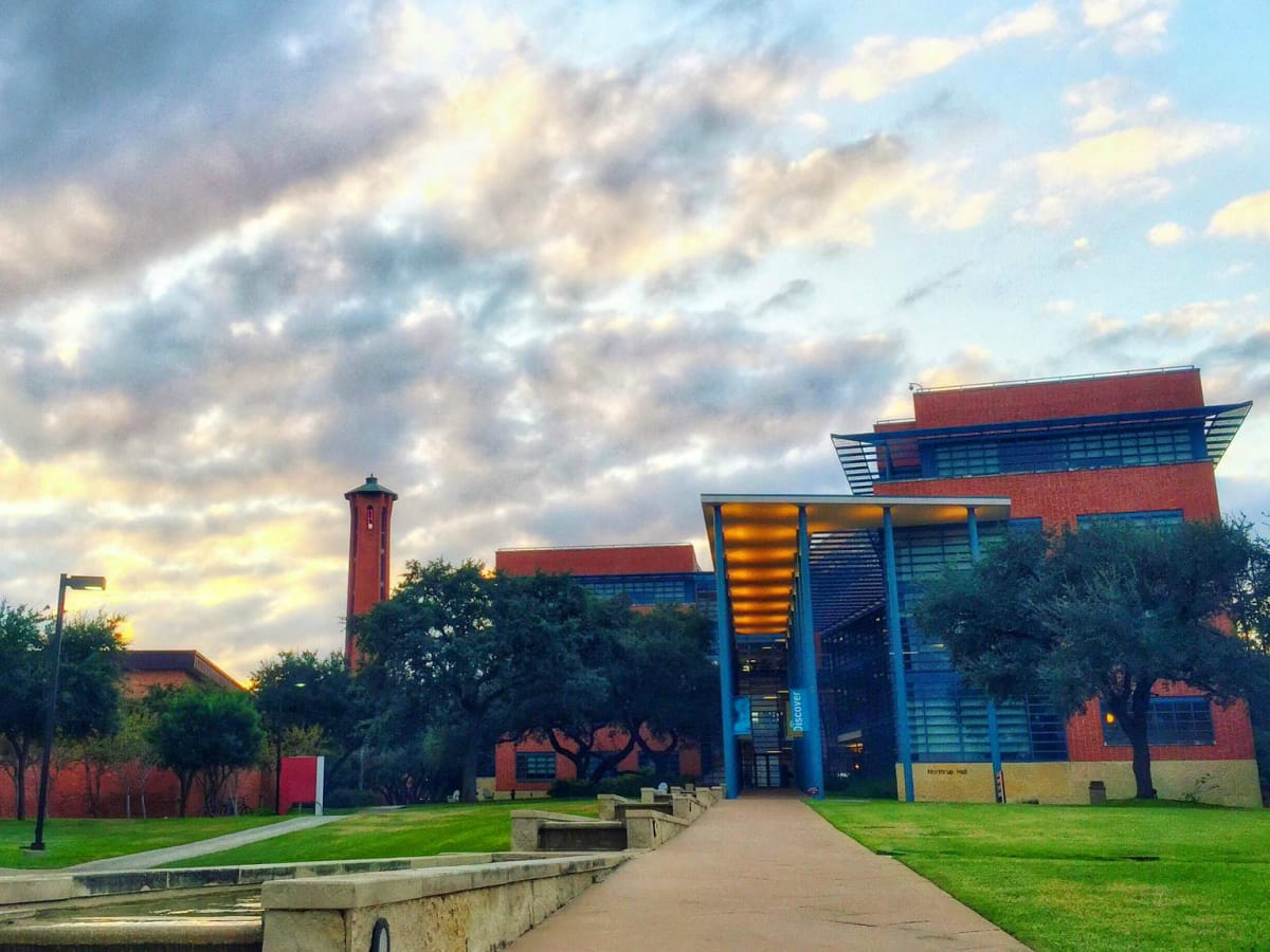Trinity University campus San Antonio 2015