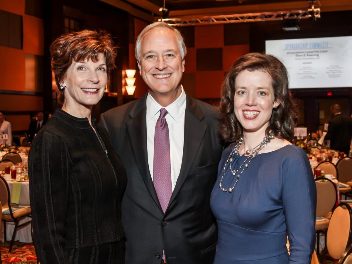 News, National Philanthropy Day Awards, Dec. 2015, Mary Williams, Will Williams, Carolyn Watson