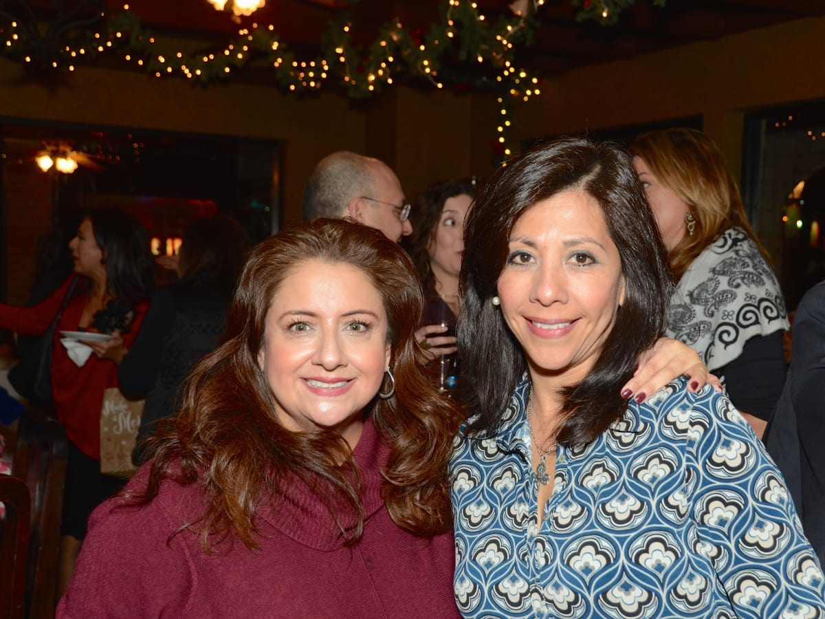 News, Mayor's Hispanic Advisory Board party, Dec. 2015,  Sonia Soto, Gloria Zenteno