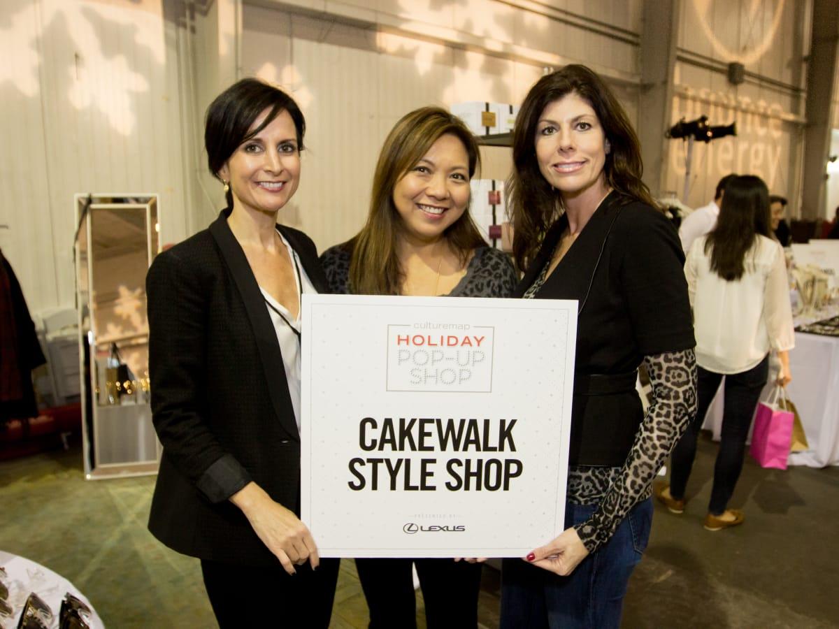 News, CM Holiday Pop-Up Shop, Dec. 2015, Jennifer Grigsby, Gina Cartwright, Tara Walker
