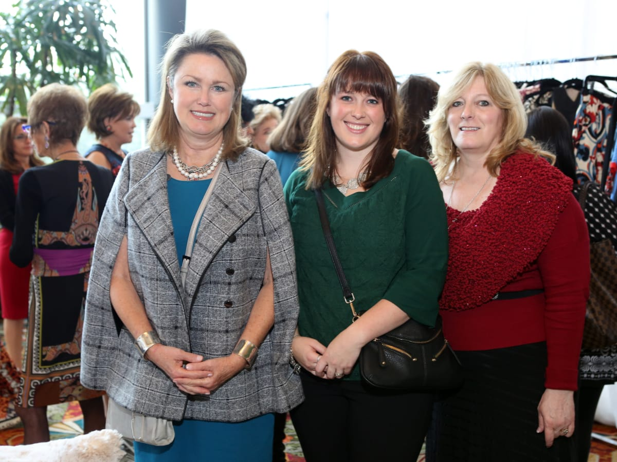 News, Shelby, Child Advocates Angels of Hope luncheon, Dec. 2015, Jo Guillory, Megan Sonnier.Tami Curry
