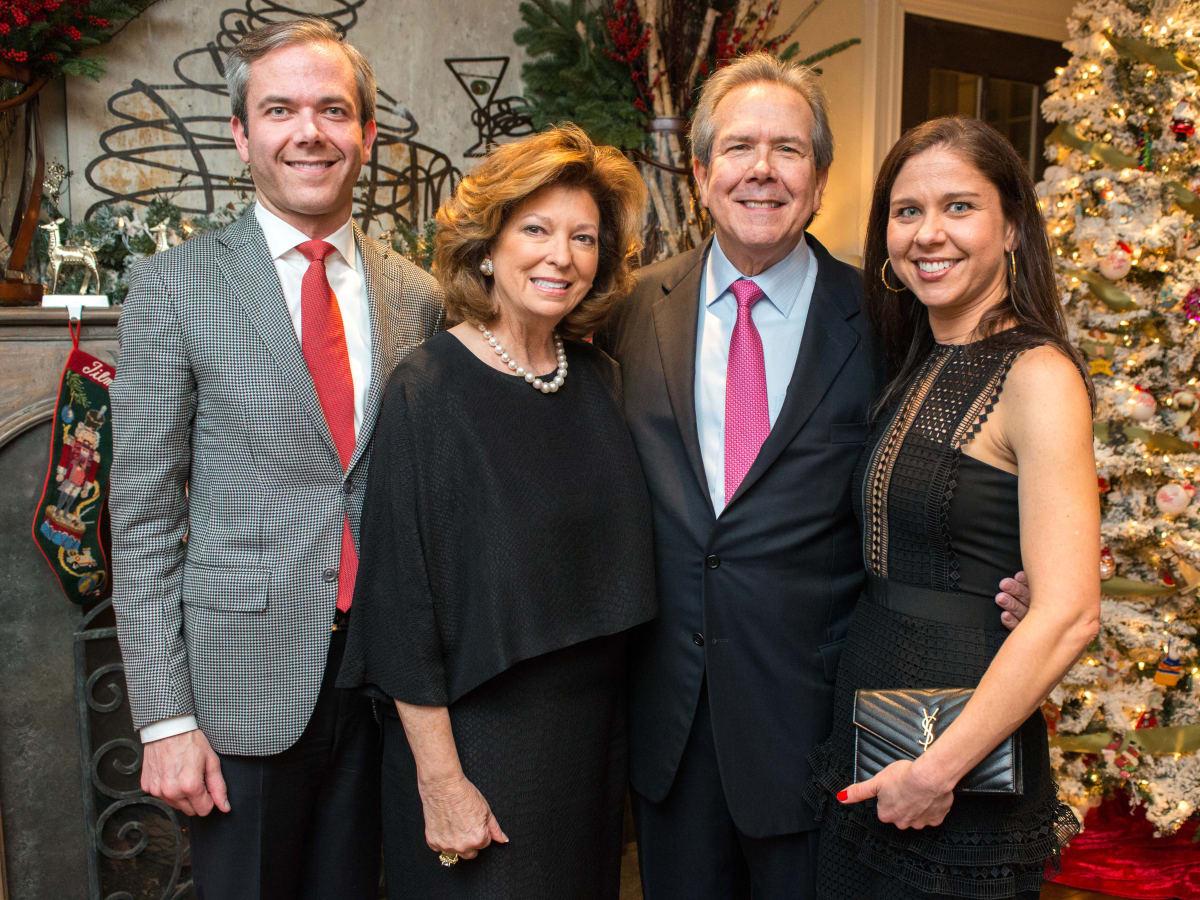 News, M.D.Anderson Santa's Elves, Dec. 2015, John B. Connally IV, Diane Connally, John Connally, Nellie Connally