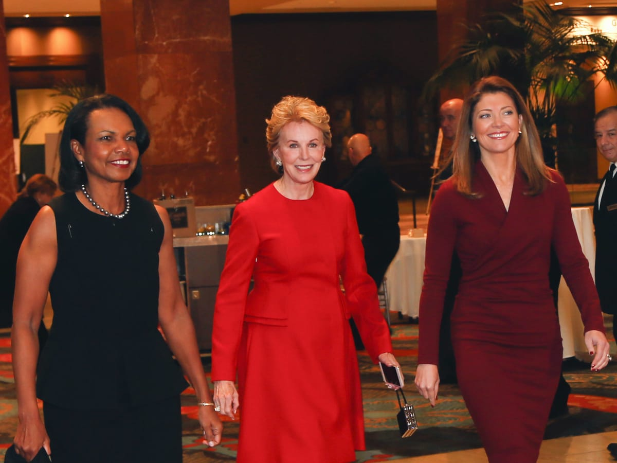 Condoleezza Rice, Ashley Rankin, Norah O'Donnell