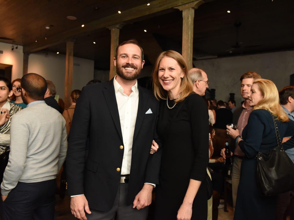 News, Pier & Beam party, Dec. 2015, Stuart Vardaman, Elizabeth Vardaman