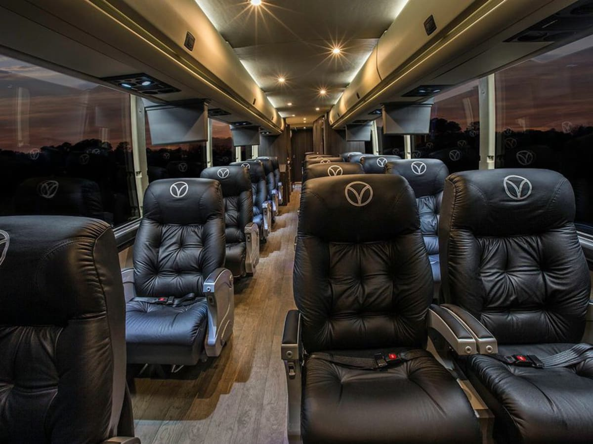 luxury bus service launches houston austin route and downtown terminal culturemap houston. Black Bedroom Furniture Sets. Home Design Ideas