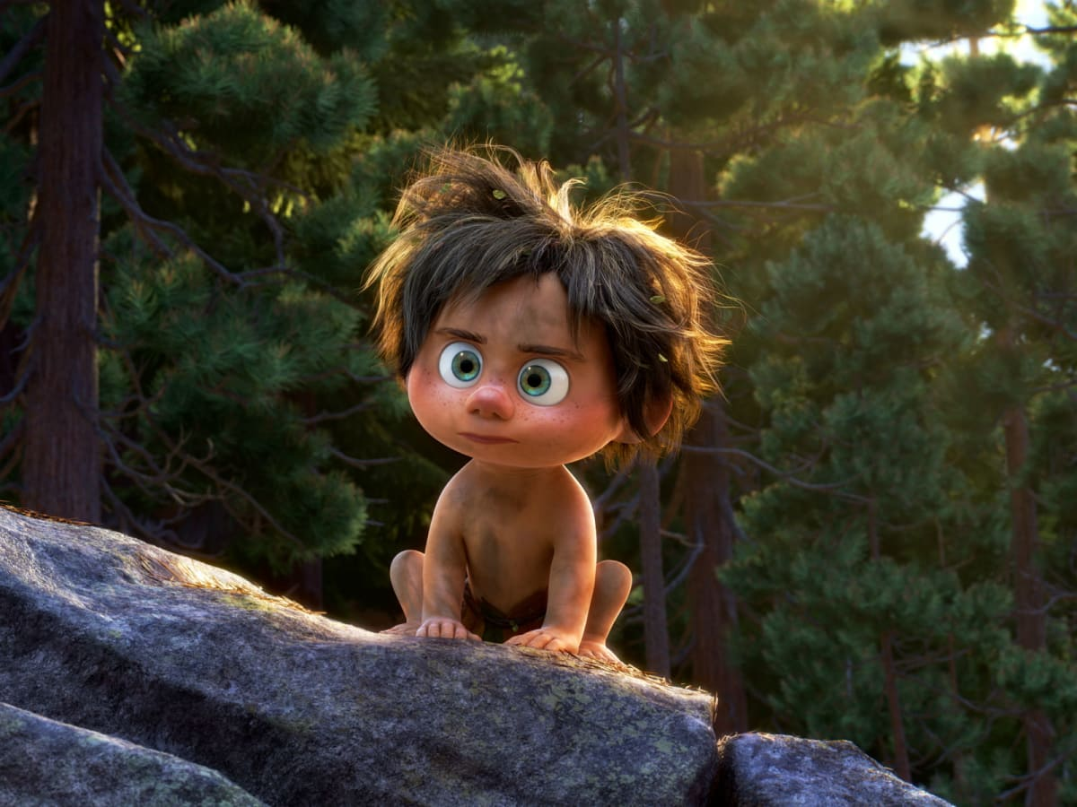 Spot in The Good Dinosaur