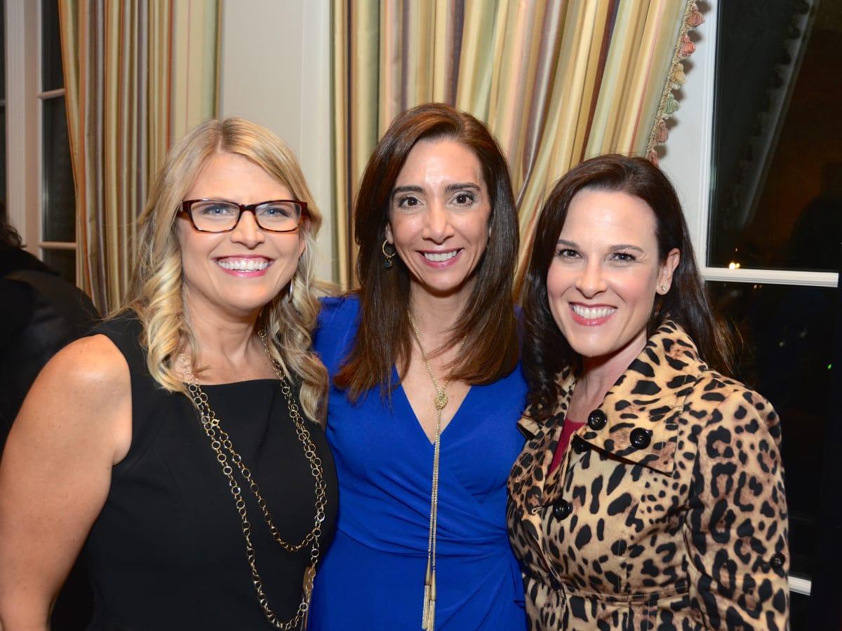 Houston, Dress for Success A Night Out Event, November 2015, Rachel Steely, Kim Burrow, Lauren Sullivan