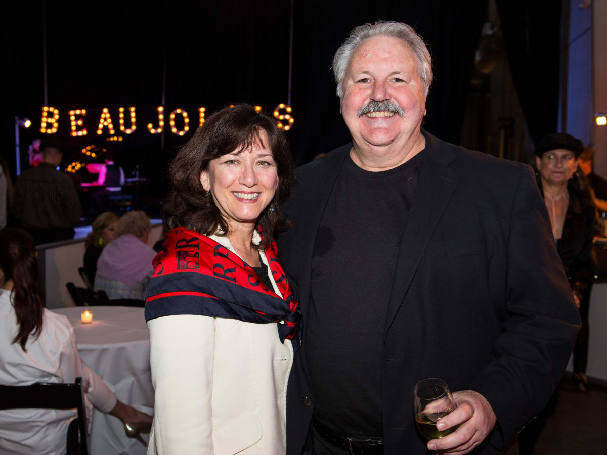 News, Beaujolais Nou eau Festival, Nov. 2015,Lanny Griffith and Debbi Elliott-Griffith