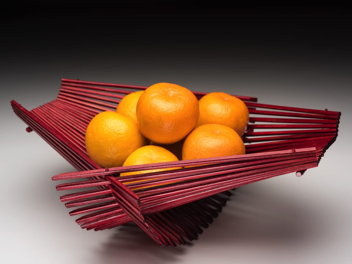 Chopstick folding basket at the Lotus Shop in Dallas