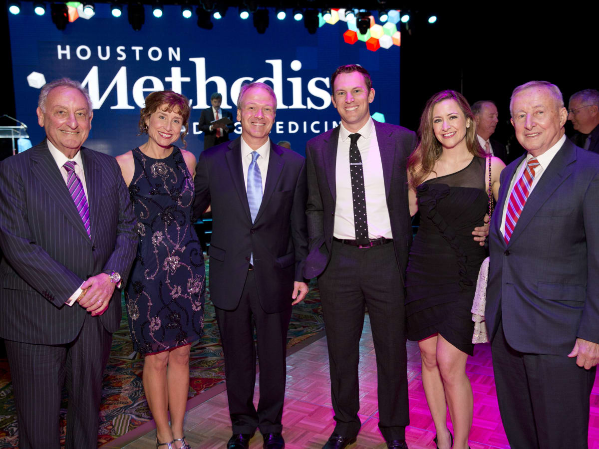 News, Shelby, Rendezvous with Houston Methodist, Nov. 2015, Sanford I. Weill, Drs. Julie and Marc Boom, Jed and Milessa Lowrie and Dr. Antonio M. Gotto Jr.