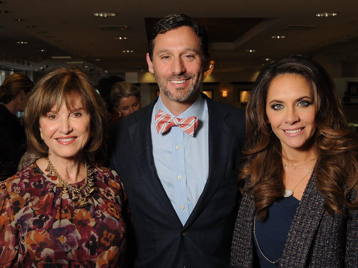News, shelby, HGO Luncheon, Nov. 2015 Donna Chapman Josey, Brad Marks, Joanna Marks